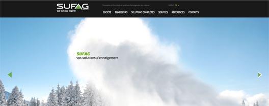Nouveau site Sufag
